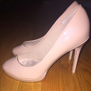 Signature by Shoedazzle Size 8 Nude Heels!